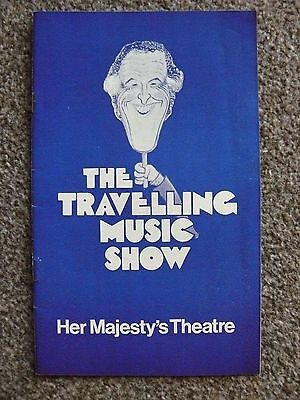 BRUCE FORSYTH - Travelling Music Show programme, Her Majesty's 1978