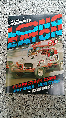 Brisca F1 Stock Car Long Eaton Programme October 1985