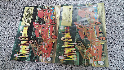 BRISCA F1 STOCK CAR COVENTRY PROGRAMME x 2 1994