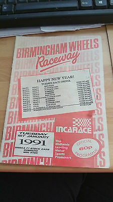 Brisca F1 Stock Car Birmingham  Stadium January 1991