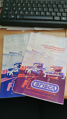 Brisca F1 Stock Car Sheffield Stadium Programme May June 1980
