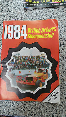 Brisca F1 Stock Car Belle Vue Programme 1984