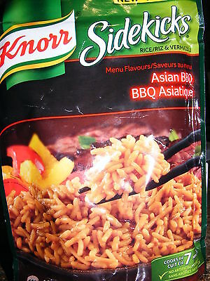 5 X KNORR SIDEKICKS - Asian BBQ  - Quick & Easy Rice Meal - Canadian Grocery