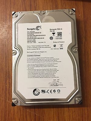 Seagate Barracuda 7200.12 ST3750528AS 750GB 3.5