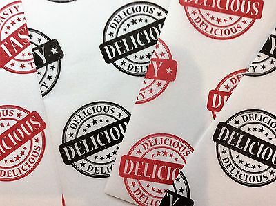 QUALITY PRINTED GRESEPROOF PAPER SHEETS, deli burger fast food wraps Black & Red