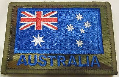 ADF Australian Flag (1) Velcro Patch Army Military