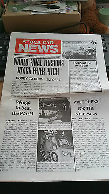 Brisca F1 Stock Car News Sept 15Th 1984