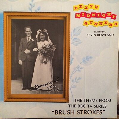"""Dexys Midnight Runners - """"Because of You"""" - 12"""" Single - 1986 -Brush 112 - XLNT"""