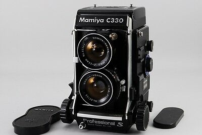 [NEAR MINT] Mamiya C330 TLR Professional S with 55mm F/4.5 from jpan #795