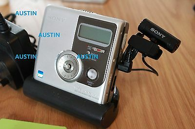 Sony Mz Nh 900 Minidisc Player  Hi Md With Microphone