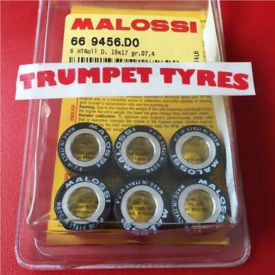 VESPA GTS SUPER 2 125 19 X 17 x 7.4gr GRAM Malossi Roller Weights Rollers Set