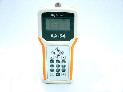 RIGEXPERT AA-54 ANALIZZATORE DI ANTENNA 0.1 to 54 MHz