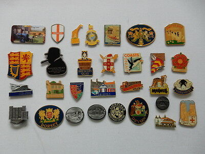 One Selected Metal Souvenir Fridge Magnet from England UK