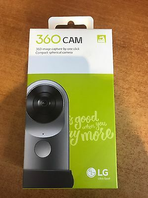 LG 360 CAM LG-R105 Compact Spherical Camera 16MP Support Android iOS