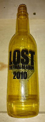 Lost TV Series Final Season Prize Contest Bottle Prop w Dharma USB Key & Message