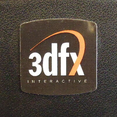 3dfx case Label / Aufkleber / Sticker / Badge / Logo 20x20mm [301c]