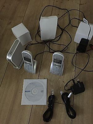 Philips Dual DECT & Skype phone VOIP 321