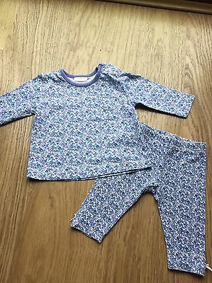 Next Long Sleeve Top Leggings Outfit 0-3 Up To 3 Months