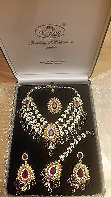 Kyles Jewellery Asian/Pakistani/Indian Bridal in Gold and Maroon