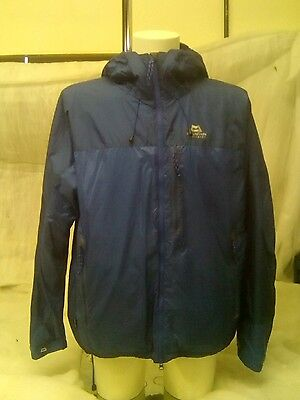 Mountain Equipment men's Fitzroy  Jacket blue x-large Used Second