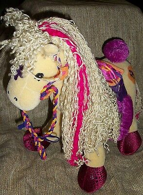 Groovy Girls Calypso Tan Poseable Plush Horse Pony Manhattan Toy 2001