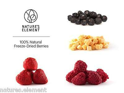 Freeze Dried Natural (Blueberries, Raspberries, Strawberries, Mango, Banana)