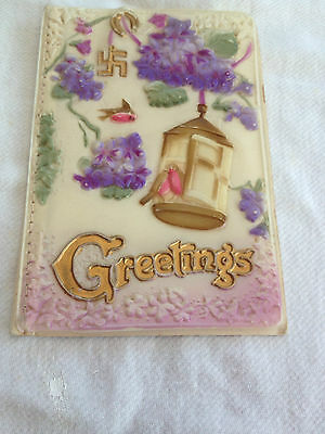 Old Greetings Card ( Might Be Chinese ? )