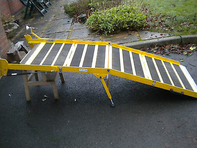 1314  Portaramp Disabled / Wheelchair Scooter Ramp Used