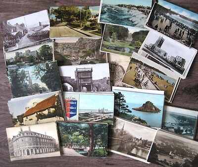 Job Lot of 200x UK Topographical Postcards, Mostly 1900-50s, inc over 30 RP