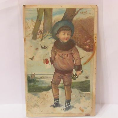 Jersey Coffee Victorian Trade Card Dayton Spice Mills Late 1800's