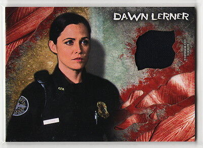 2016 TOPPS The Walking Dead Survival Box Dawn Lerner Shirt Costume Relic Card