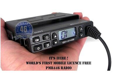 PMR 446  Mobile Radio  MIDLAND GB1 with external Antenna