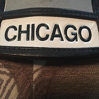 Cairns Style Authentic  Chicago  Leather Fire Front Shield  Firefighter