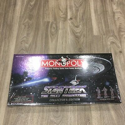 """Star Trek """"The Next Generation """" collectors edition Monopoly Game - sealed"""