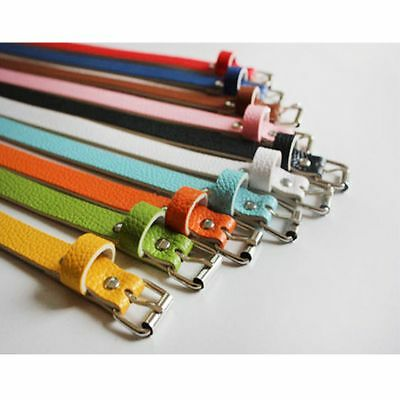 Charming Skinny Thin Faux Leather Women Accessories 8 Candy Colors Waist Belt