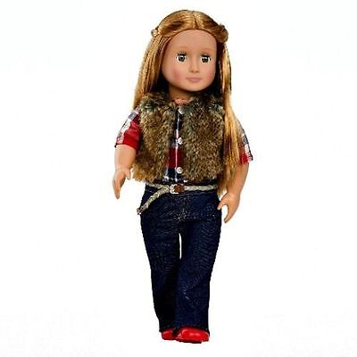 """Our Generation 18"""" Jamie Doll Brown Hair & Eyes Fits American Girl Ships fast!"""