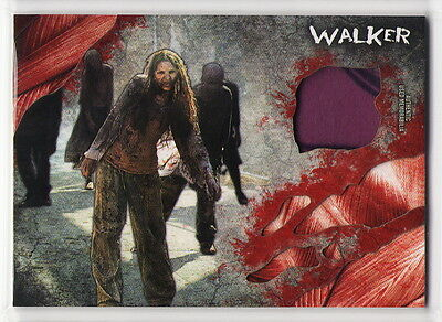 2016 TOPPS The Walking Dead Survival Box Walker Clothing Costume Relic Card #1