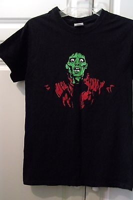 Michael Jackson #2-Thriller-T Shirt-Adult Small-Halloween