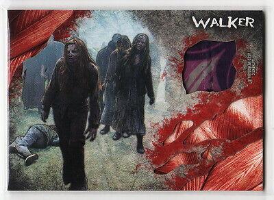 2016 TOPPS The Walking Dead Survival Box Walker Clothing Costume Relic Card #4