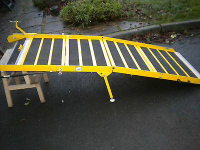 1317  Portaramp Disabled / Wheelchair Scooter Ramp Used