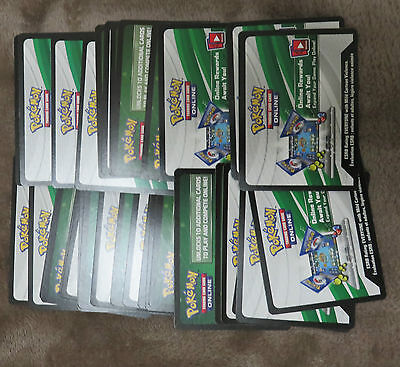 32x Pokemon Online Booster Codes Fates Colide Evolutions  Mythical EX Full Art