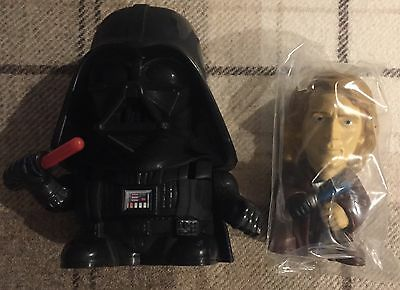 DARTH VADER / ANNIE - Star Wars Revenge of the Sith Burger King premium toy 2005