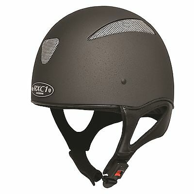 Gatehouse RXC1 JOCKEY SKULL Riding Helmet Vented Breathable Grey Snell & PAS015
