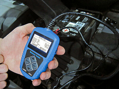 12 Volt Vehicle Battery Analyzer Tester Charging Cranking System Multi Language
