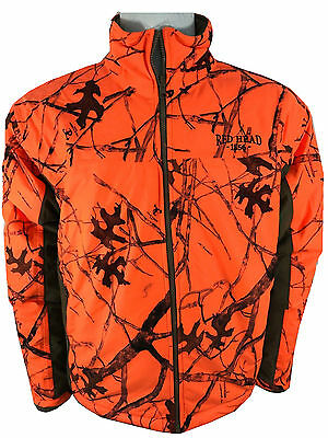 Mens Original Red Head Bomber Hunting Fishing waterproof windproof  jacket