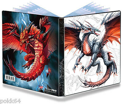 Album Ultra Pro Portfolio Black & Demon Dragon classeur A5 pour 80 cartes 410009