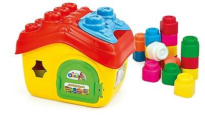 Baby Clemmy House Fun Learning Shape Sorter House 15 Soft Blocks