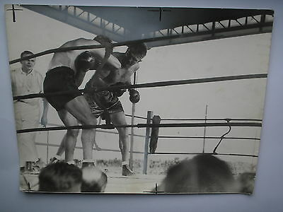 photo presse boxe boxing       MAX SCHMELLING x WALTER HEUSEL 1934