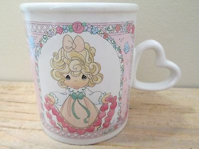 Precious Moments Coffee Cup Mug 1996 Enesco You Have Touched So Many Hearts