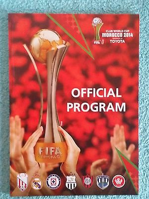 2014 - CLUB WORLD CUP TOURNAMENT PROGRAMME - Featuring REAL MADRID